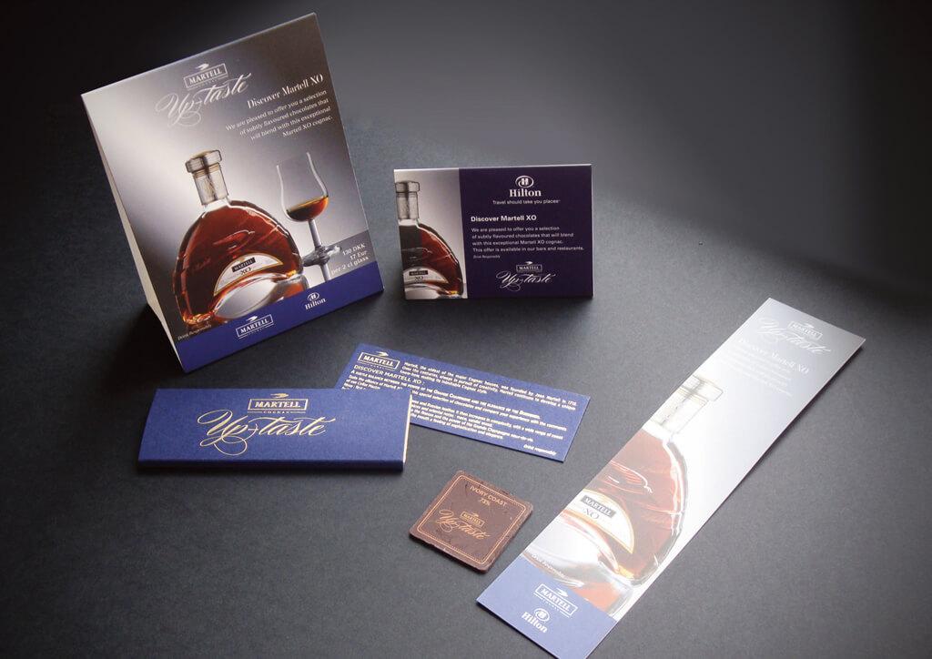 <p>Cognacs Martel : Merchandising worldwide concept «uptaste»</p>