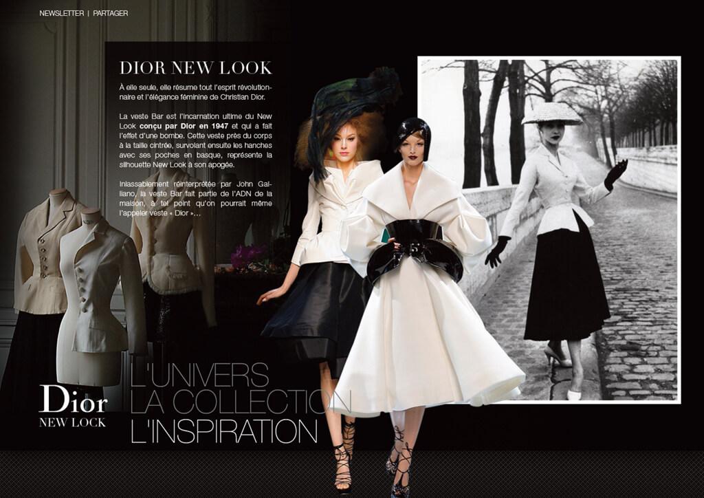 <p>Christian Dior Courture : Stratégie digitale - Website lancement maroquinerie</p>