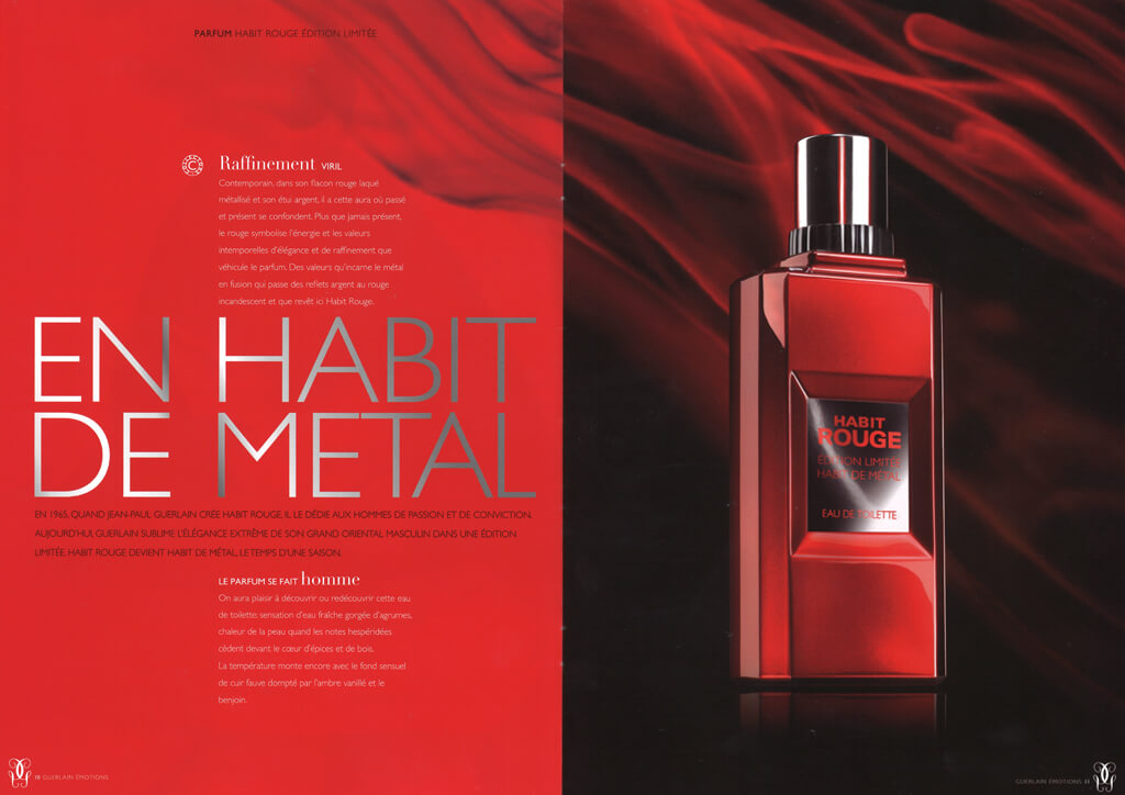 <p>Parfums Guerlain : Edition magazine</p>