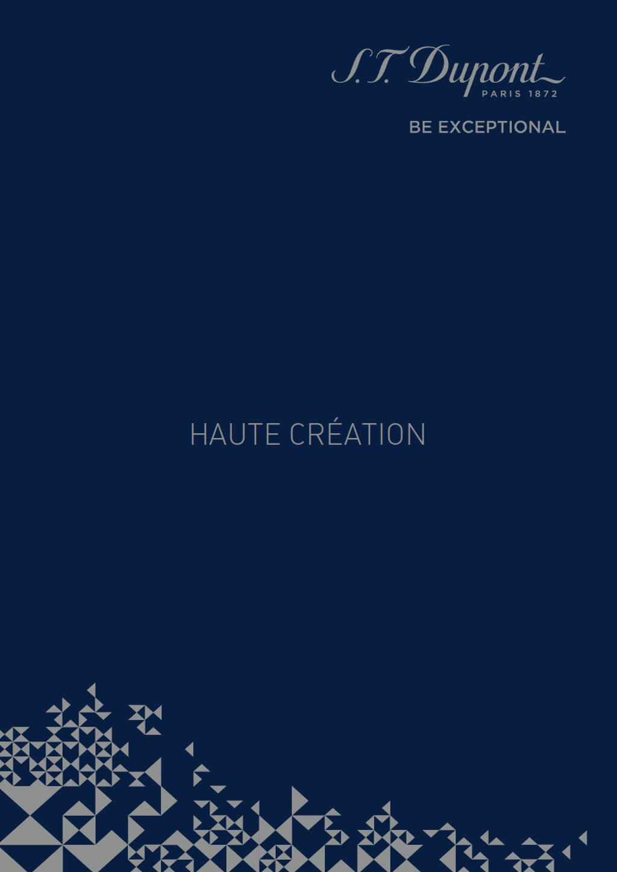 <p>S.T.Dupont : Livre collection Haute Création</p>
