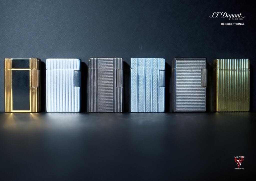 <p>S.T.Dupont : Campagne 75 ans du briquet Dupont</p>